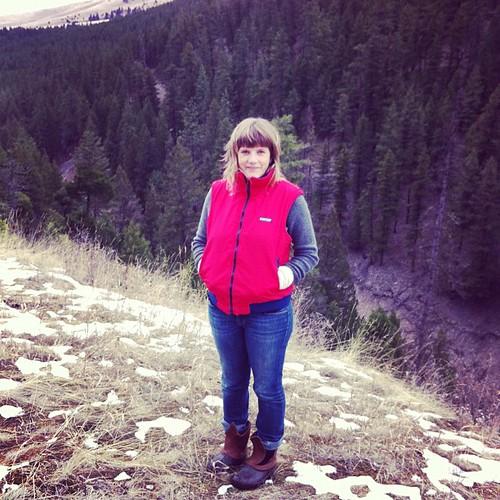 Erin in Montana | by Travis Fleck