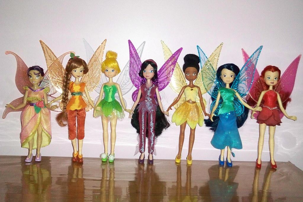 Fadas Tinker Bell Todas Lualmi Flickr