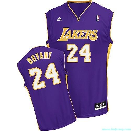 online store 3cbbf b45f6 Youth Adidas Los Angeles Lakers #24 Kobe Bryant Purple Roa ...