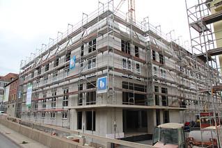 Gerüst für einen Neubau in Ludwigsburg   by IBEK Gerüstbau