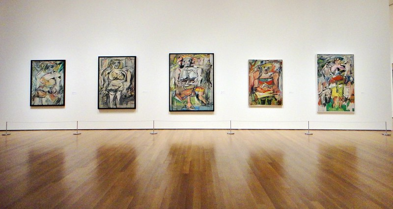De Kooning's third women series, from the 1950s
