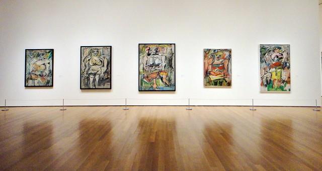 De Kooning's third women series, from the 1950s