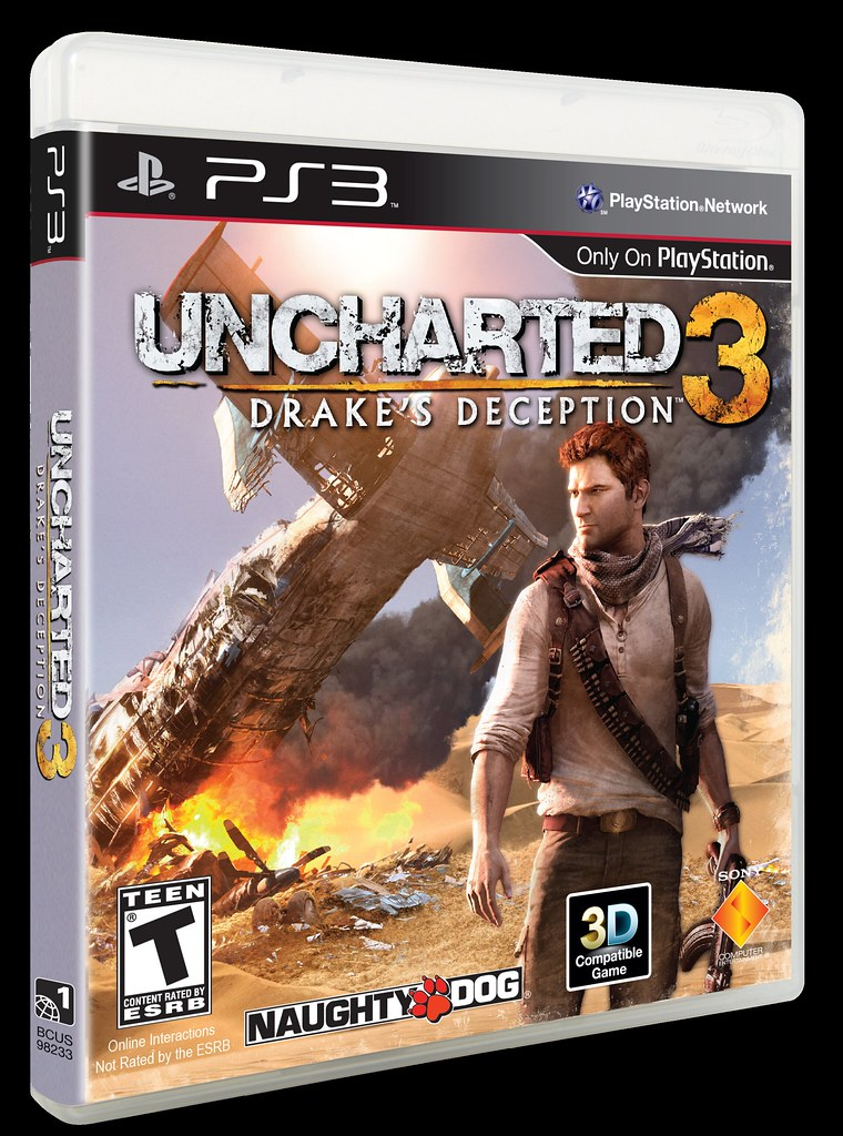 uncharted 3 cover art