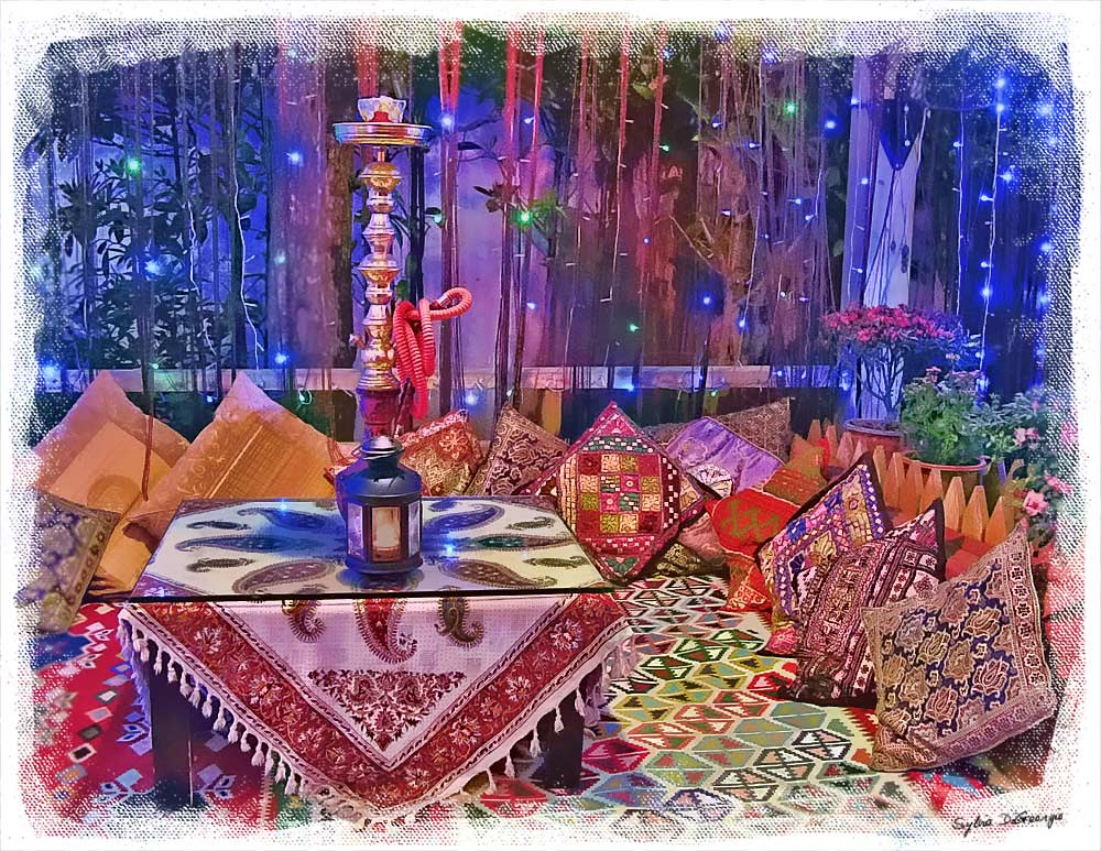 Iranian restaurant - WC Topaz tutorial   Photoshop tutorials