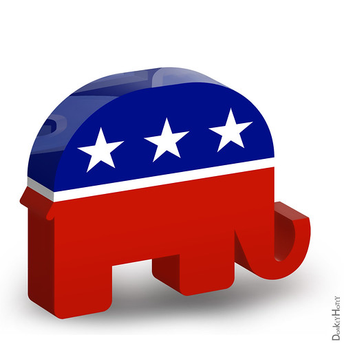Republican Elephant - 3D Icon | by DonkeyHotey