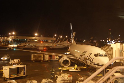 Alaska Airlines As15 Boston To Seattle February 20