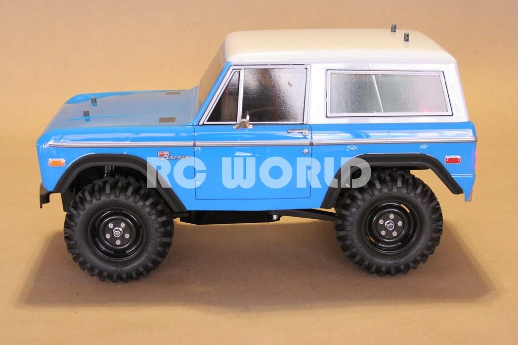 TAMIYA RC4WD FORD BRONCO ROCK CRAWLER CC-01 | RC WORLD | Flickr