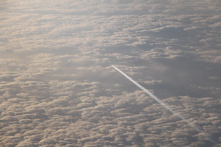 Contrails below | by Titoxd