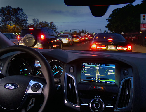 stopped in traffic 2.0   by Robert Couse-Baker
