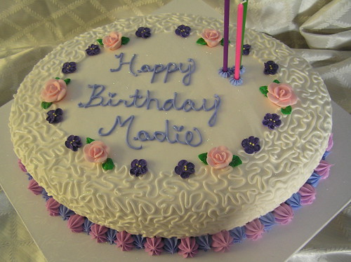 Aunt Madie's 96th Birthday Cake | by Hunny B Creations