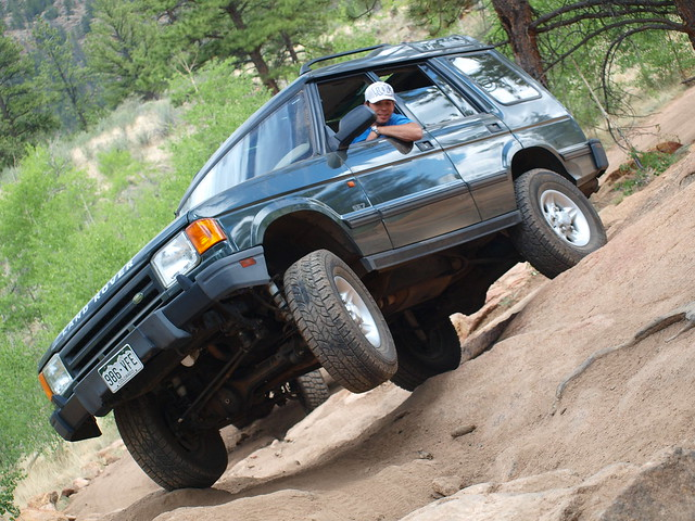 ROVER ON CHINA WALL TRAIL