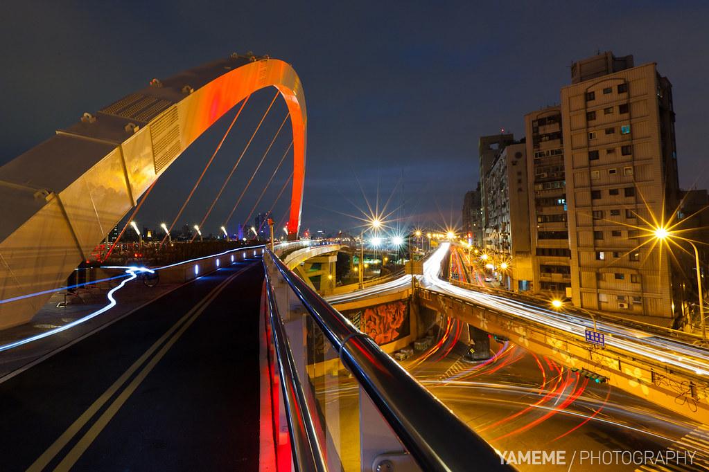 客家跨堤平台 Hakka Cross-Dike Platform, Taipei by yameme