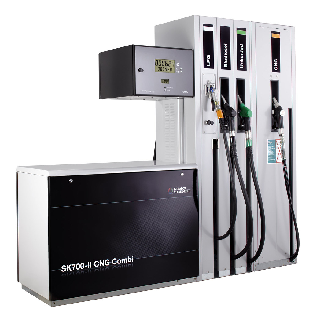 SK700 II CNG Dispenser From Gilbarco Veeder Root | With A Br ...