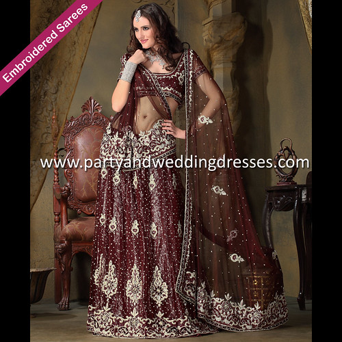 Wedding White Sarees Online: Designer Sarees, Wedding Sarees, Bridal Sarees, Buy Saree