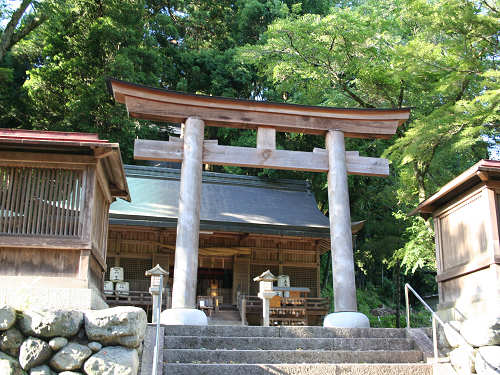 丹生川 上 神社