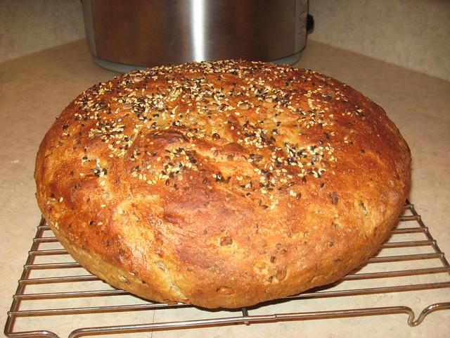Sourdough Whole Grain Boule