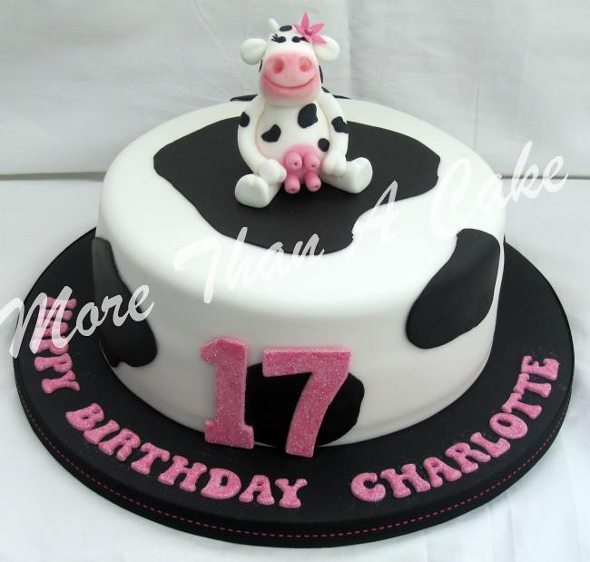 Charlottes 17th Birthday Cake