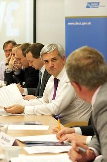 Chris Huhne, Energy Secretary | by DECCgovuk