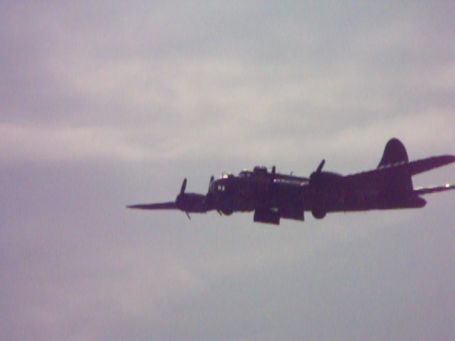 Sally B doing her stuff @ Duxford 2011