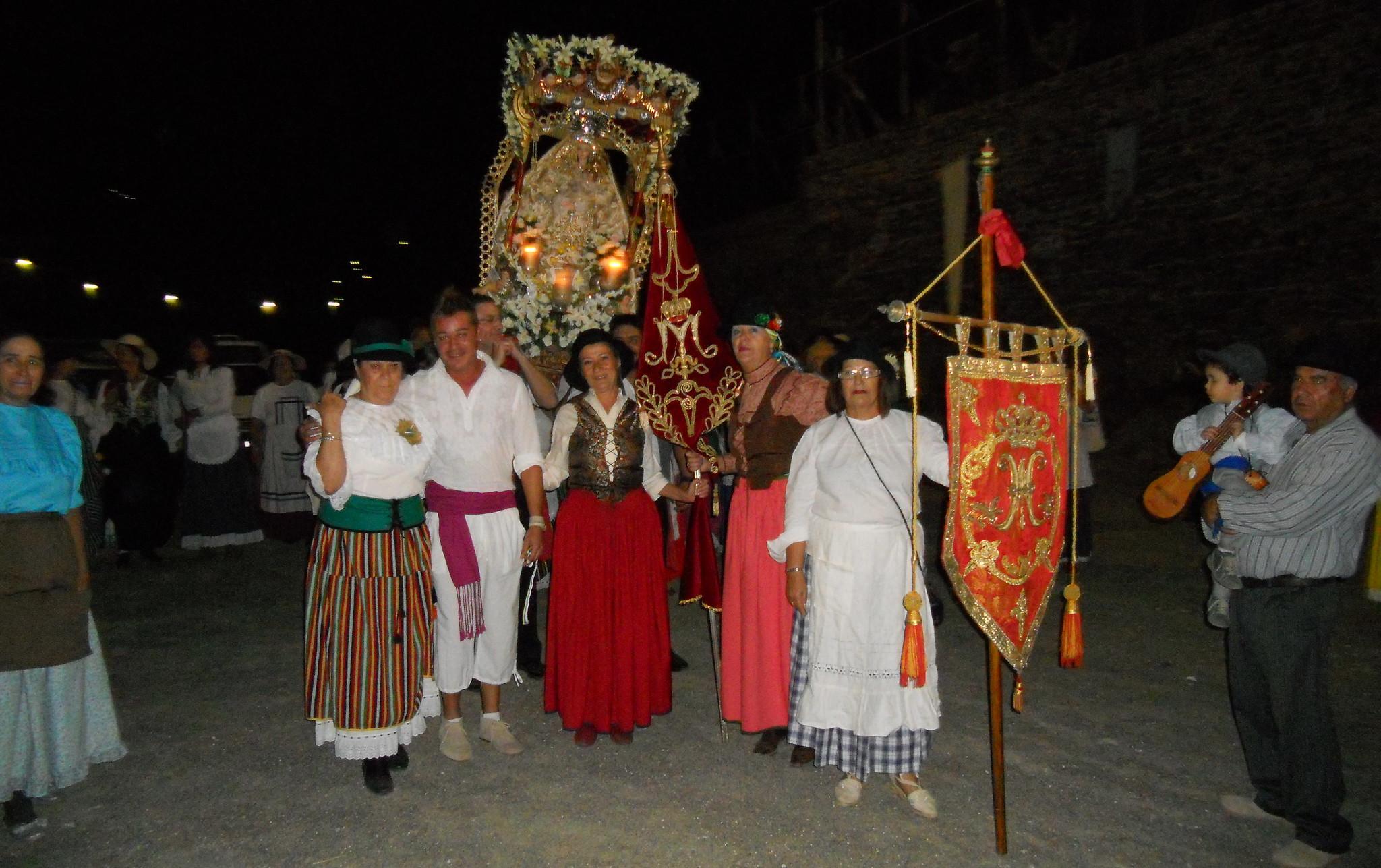 Procesión Romería Virgen Cuevecillas de Agaete Isla de Gran Canaria