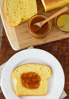 Pumpkin Coconut Bread with Pumpkin Butter