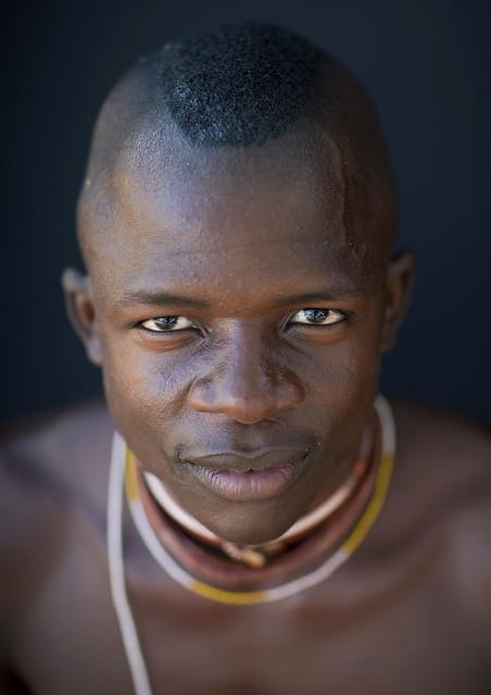 Mucubal Man, Virie Area, Angola