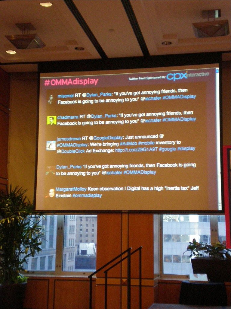 OMMA Display NY 2011 | CPX Interactive sponsored the event w
