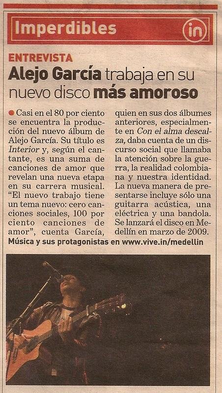 Periódico ADN Medellín Noviembre 12 de 2008