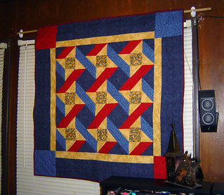 Ribbons Quilt on the Wall | by Scientific Quilter
