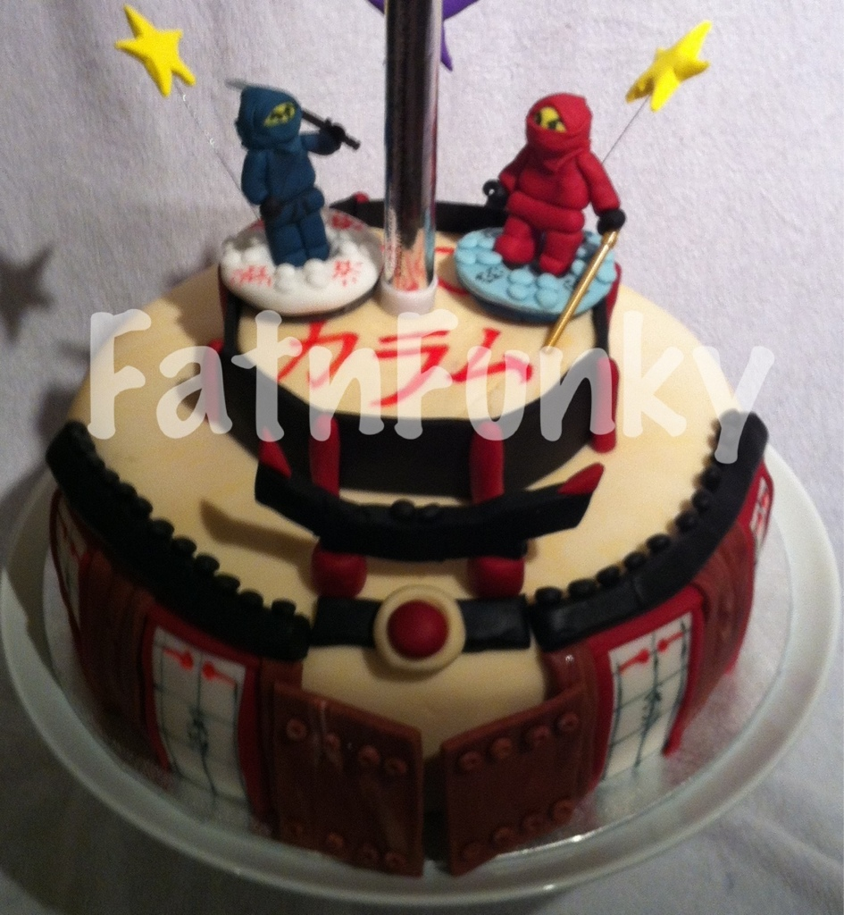 Terrific Ninjago Birthday Cake Fatnfunky Cakes Art Flickr Funny Birthday Cards Online Alyptdamsfinfo