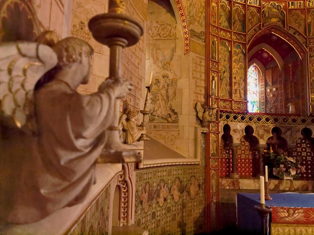 Inside St Peter's church, Hascombe SWC B1 W20_20110514_33_DxO_1024x768