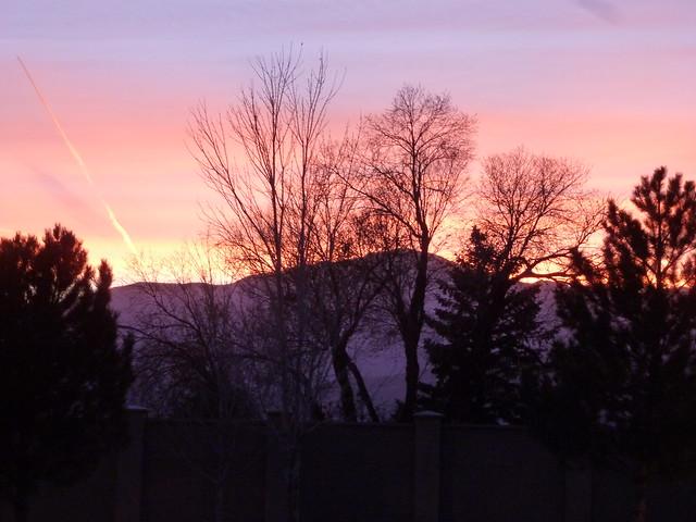 Sunset and Pikes Peak