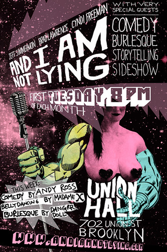 And I Am Not Lying Live 4.3.2012 | by Jeff.Simmermon
