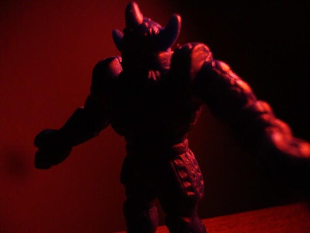 Akuma Shogun In Bad Lighting