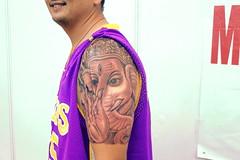 799edf1b6 tattoo india convention veer hegde piercing bangalore Eternal expression  best ganesha tattoo 12w