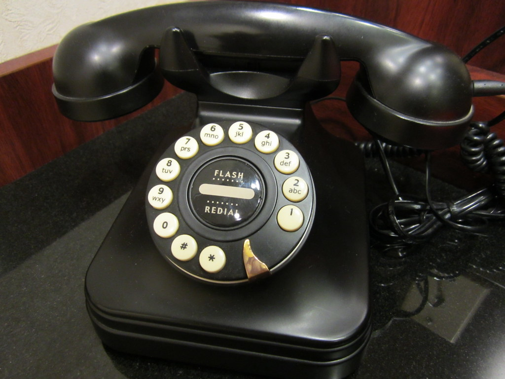 Old-style phone