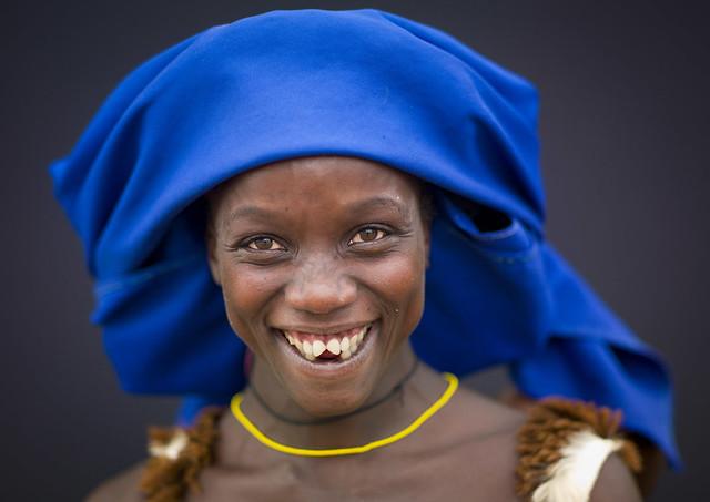 Mucubal Woman With Sharpened Teeth, Virie Area, Angola