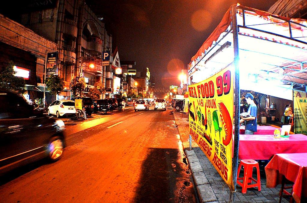 Jalan Sabang Jakarta Pada Malam Hari Jalan Sabang Jakarta Flickr