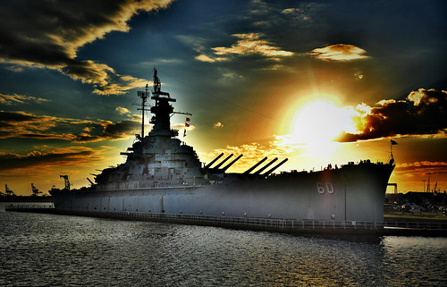sunset sky sun hot beach golden cool glamour nikon getty battleship ussalabama nikon35mmf18
