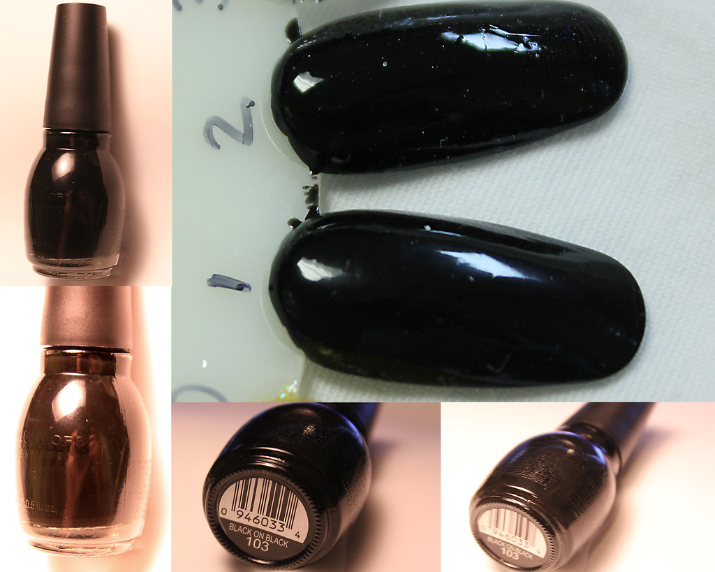 Black On Black Sinful Colors Black On Black 103 Sinfu Flickr