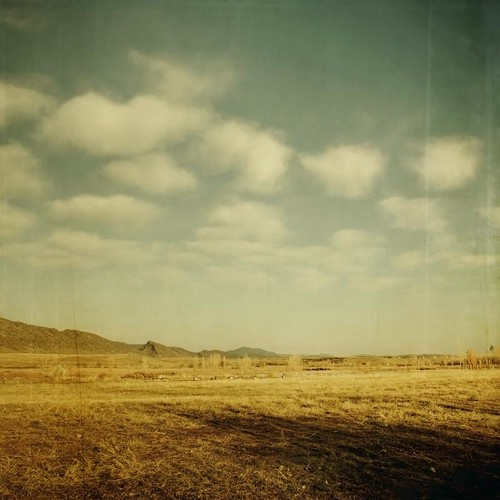 morning foothills fall clouds canon vintage square landscape geese colorado shadows aged puffy frontrange textured texturesquared t1i