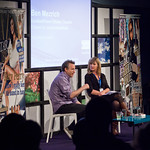 Ben Mezrich on stage | Ben Mezrich chats with Decca Aitkenhead about his latest work Sex on the Moon