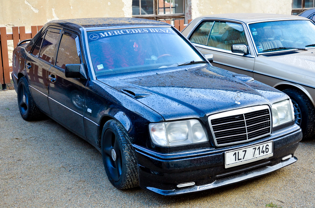 Mercedes-Benz W124 (EVO 2 styled) | Czech Mercedes-Benz club… | Flickr