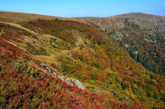 La crète et le Hohneck (1363m alt)  -   (2 photos)