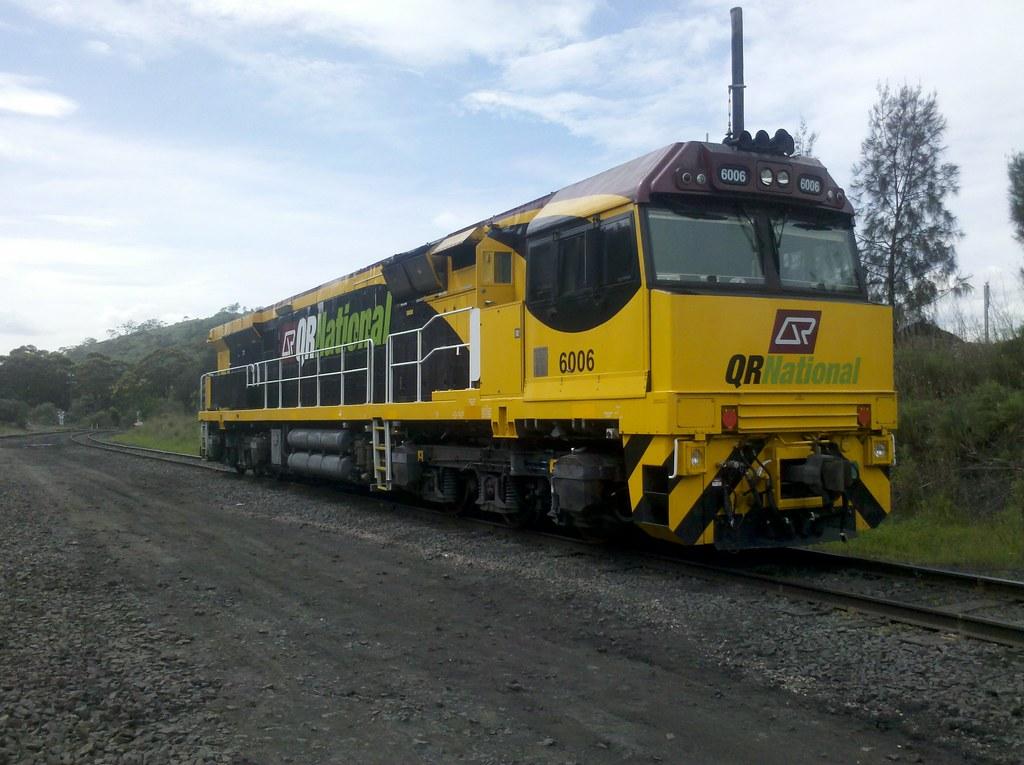 QRN C44ACi 6006 Yennora NSW