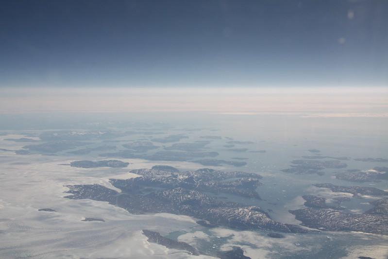 Groenland Luftbild