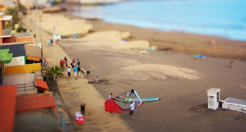 El Médano miniature beach II | by mm3d