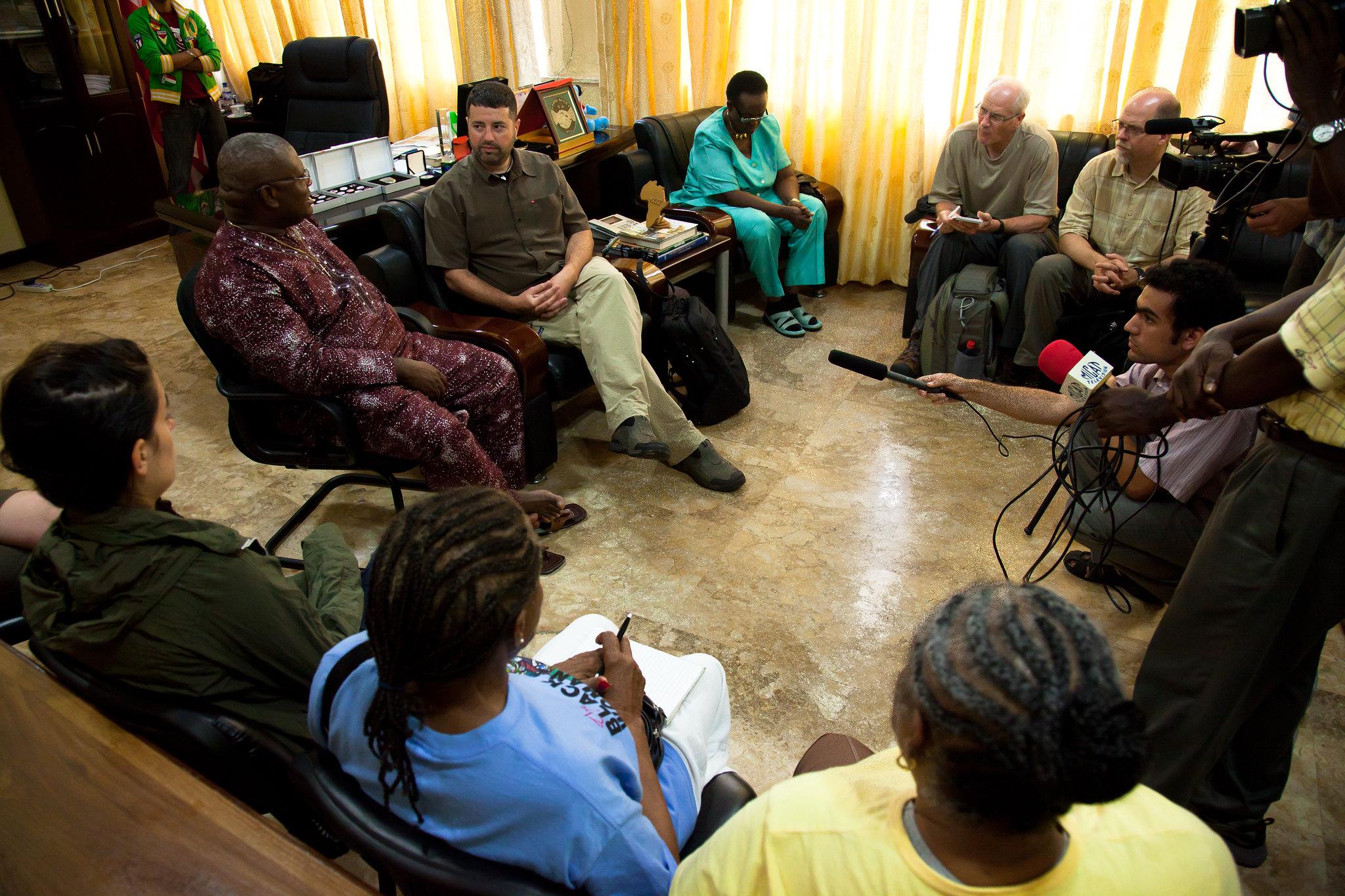 Behind the Scenes – Together Liberia – David Trotman-Wilkins