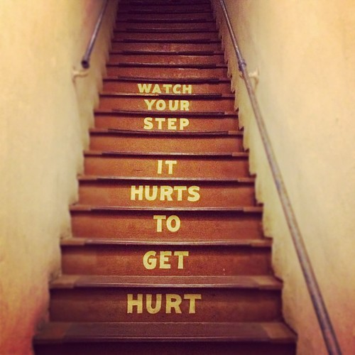 It hurts to get hurt #themoreyouknow [pic] | by Wayfaring Wanderer