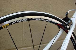 Look 566 2012 Mavic Aksium Wheelset | by Glory Cycles